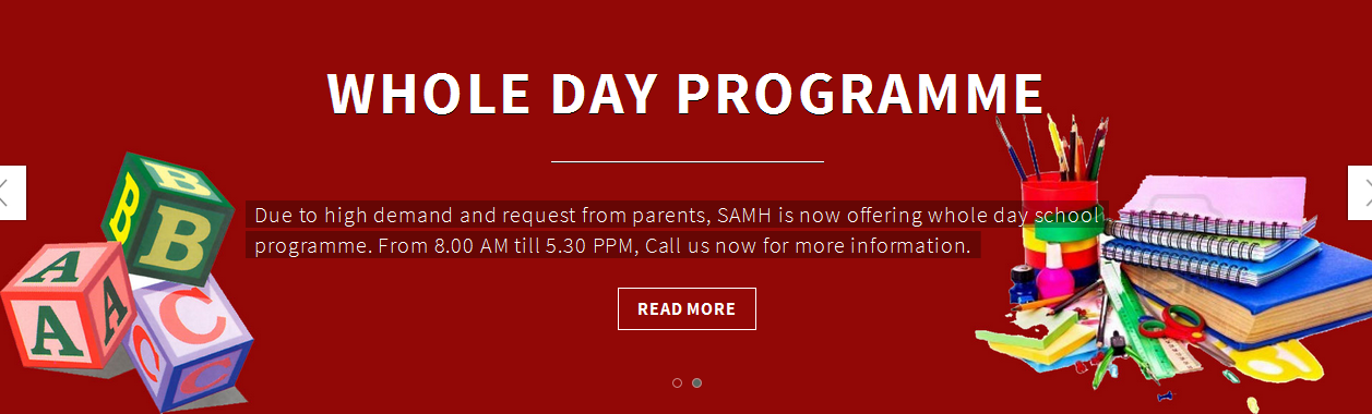 School Program & Day Care for Special Children
