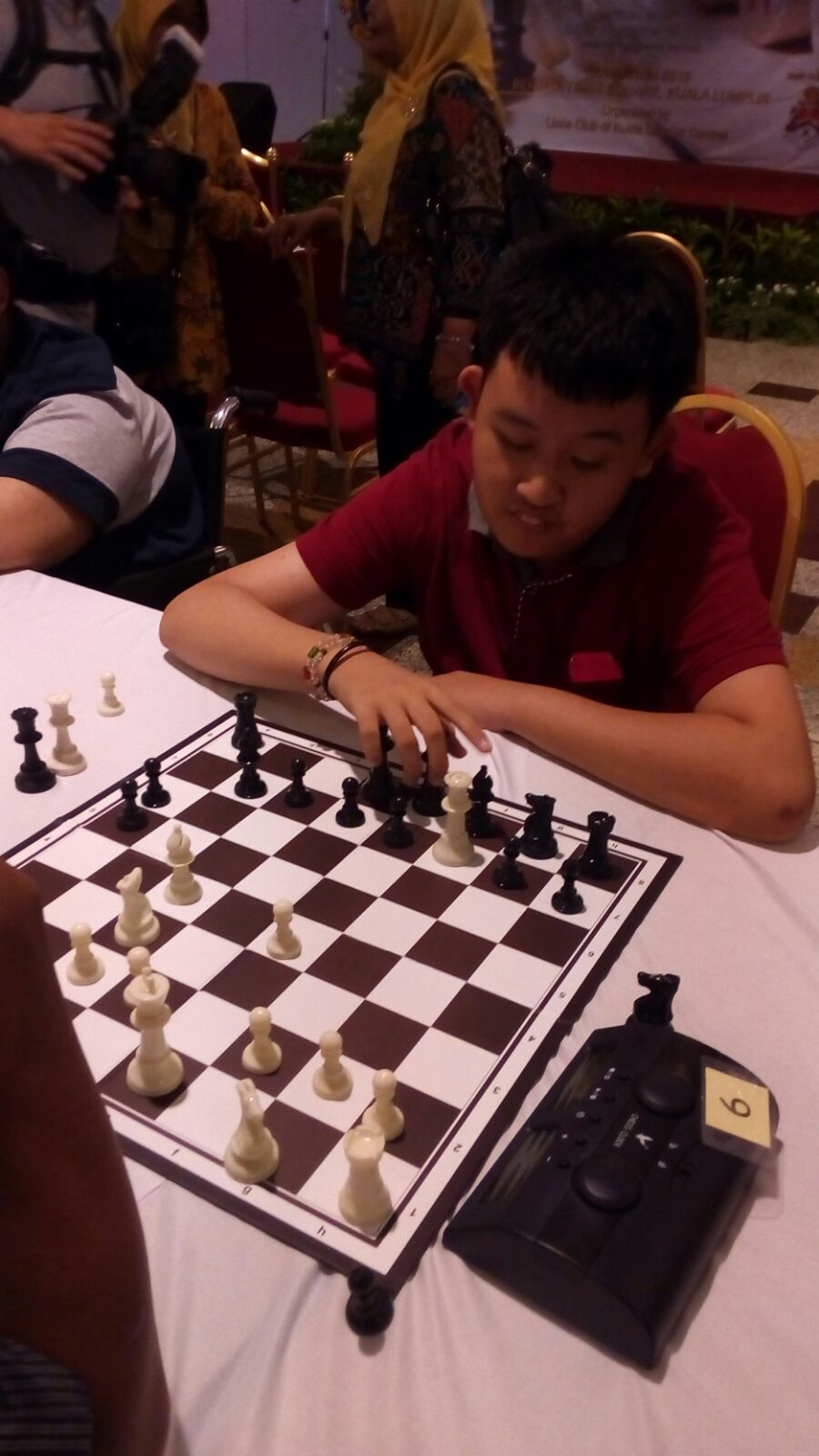 20th International and 4th Chinese Chess  Competition