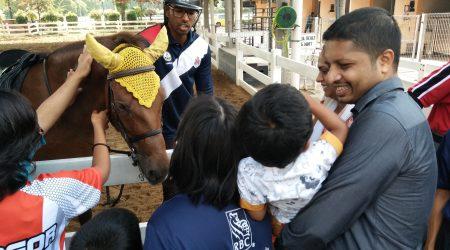 Terapi Berkuda Februari 2018 Unit Berkuda DBKL, Taman Tasek Titiwangsa Kuala Lumpur