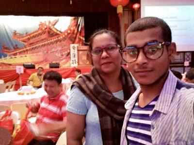 10hb Mac 2018, Sambutan Tahun Baru Cina di Thean Hou Temple.