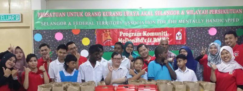 12hb Feb 2018, Program Komuniti McDonalds bersama pelajar PPKI Wisma Harapan