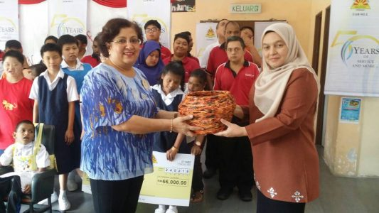 Sponsorship by APEX Klang & Port School, Perth Australia