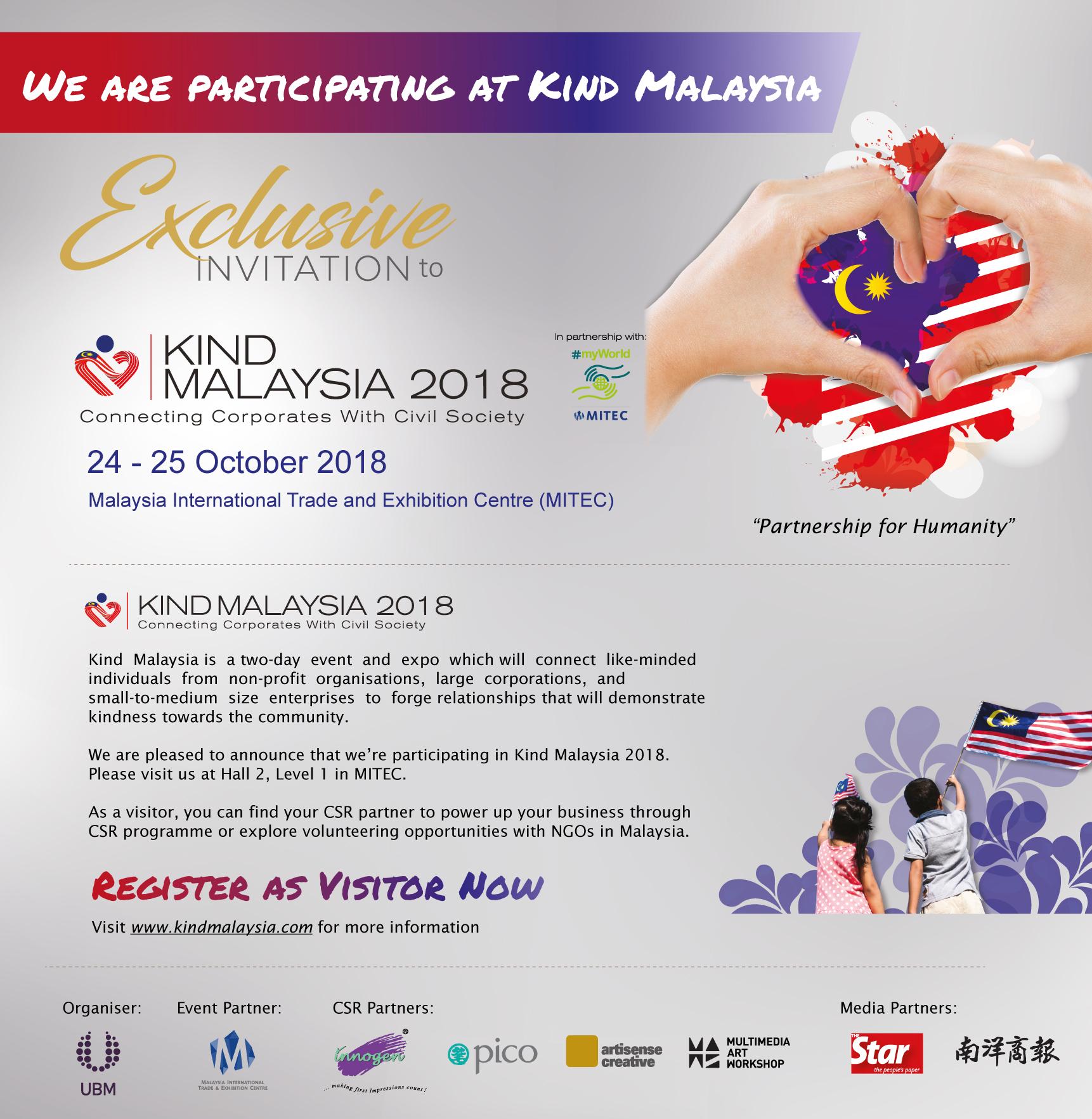 Kind Malaysia 2018